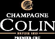 logo champagne colin depuis 1829